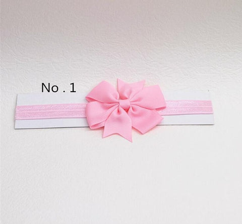 headwrap baby headbands headwear girls bow knot hairband head band infant newborn Toddlers Gift tiara hair accessories clothes -  7accessories.com