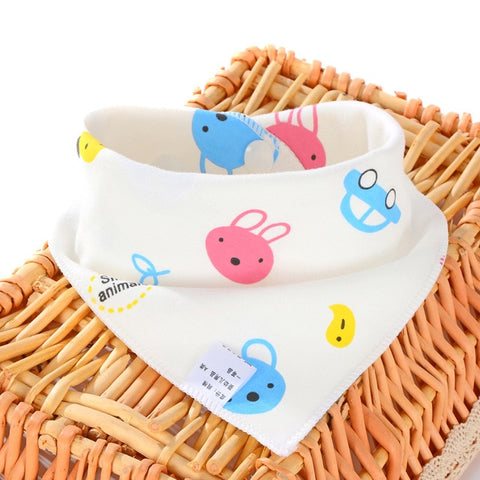 Oklady New Baby Bibs Cotton Bibs Soft Baby Smock Newborn Boys Girls kids Bibs Cartoon Baby Stuff -  7accessories.com