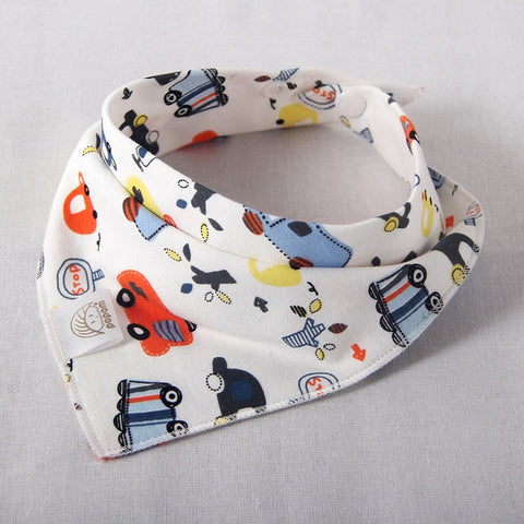 Cotton Baby Scarf Baby Bibs For Boys Girls Burp Cloths Baberos Lovely Kids Collars O Ring Neckerchief -  7accessories.com