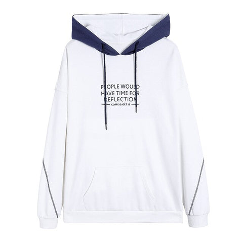 New Spring Hoodie Women Printed Cotton Hooded Sweatshirts Women -  7accessories.com