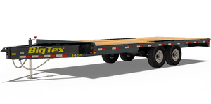 Big Tex 14OA Heavy Duty Over-The-Axle Bumperpull Trailer