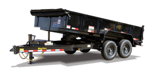 Big Tex 14LP Heavy Duty Low Profile Dump Trailer