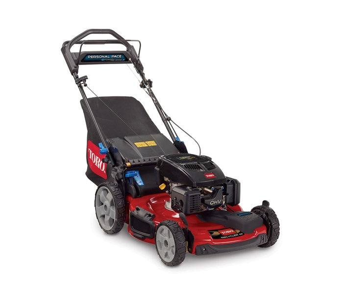 "Toro Recycler 22"" High Wheel Mower with PoweReverse and Personal Pace 20357"