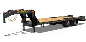Big Tex Flatbed Gooseneck Trailers