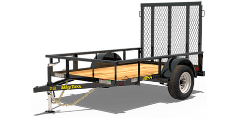 Big Tex Utility Trailers