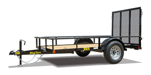 Big Tex 30ES Economy Single Axle Utility Trailer