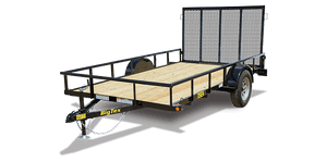 Big Tex 35ES Economy Single Axle Utility Trailer
