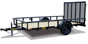 Big Tex 35SA Single Axle Utility Trailer