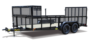 Big Tex 70LR Tandem Axle Landscape Trailer