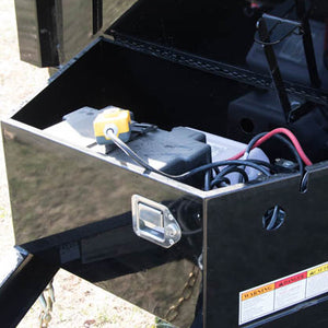 LOCKABLE PUMP & BATTERY BOX