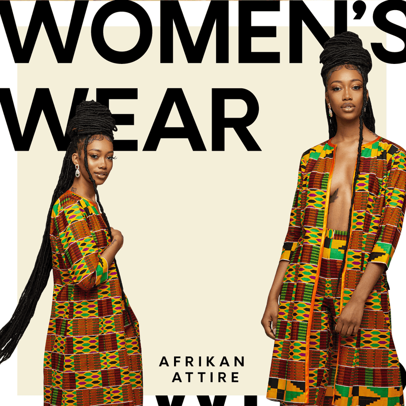 Womens African Clothing