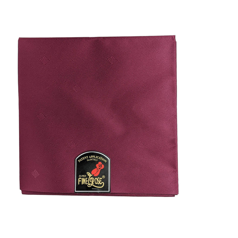 Burgundy Finerose Gele