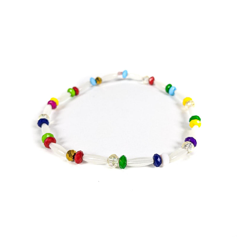 Multicolored Anklet