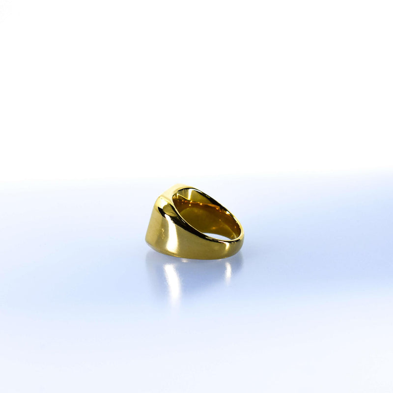 Women's Gold Cushion Ring