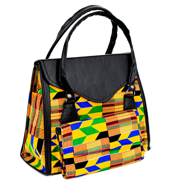 Kente Bag Set