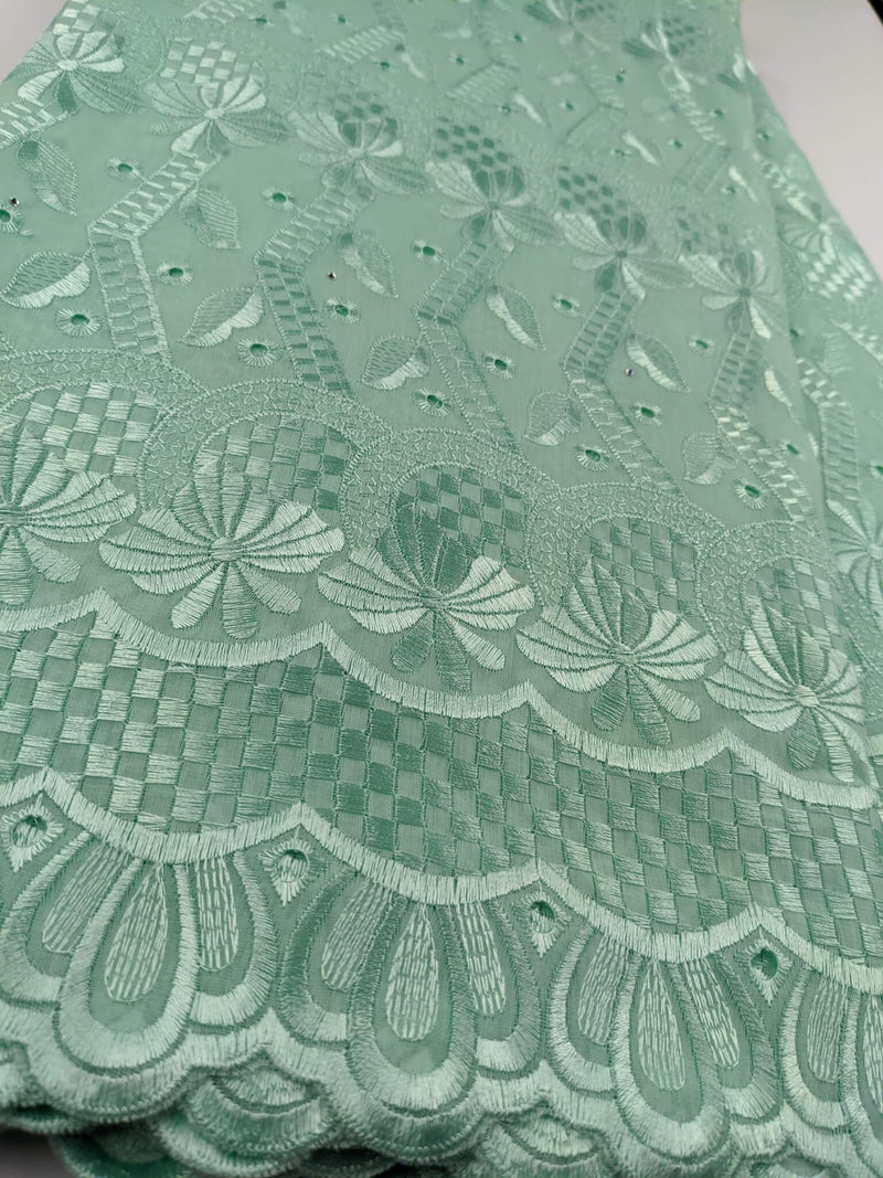 Green Cotton Lace