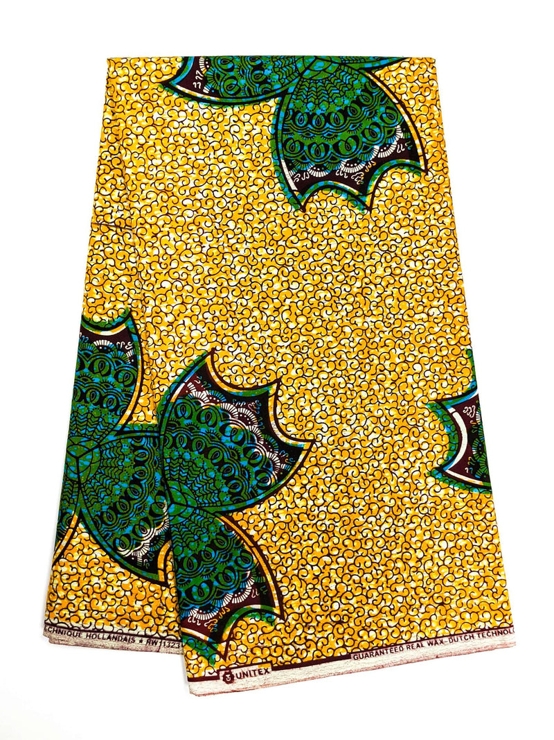 African Print Veritable Dutch Wax F33