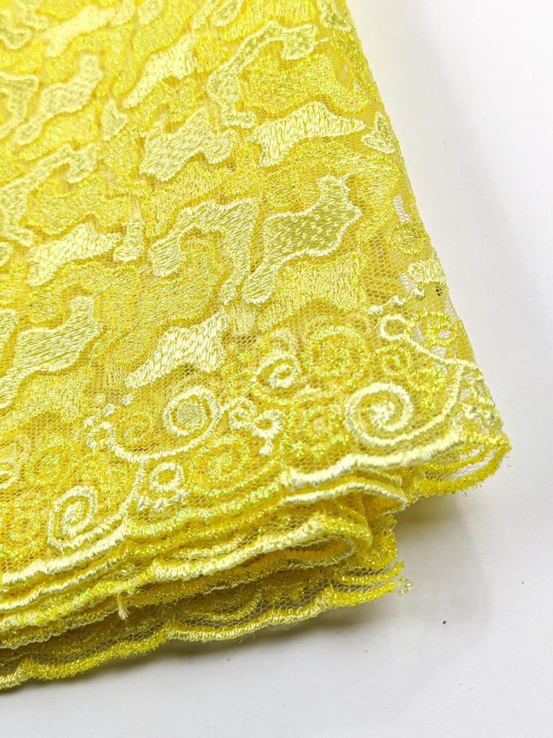 Yellow Gold French Lace