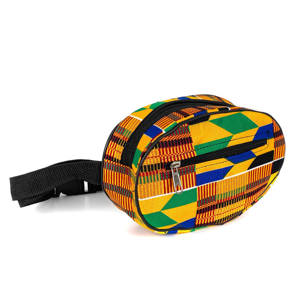 African Kente Fanny Pack