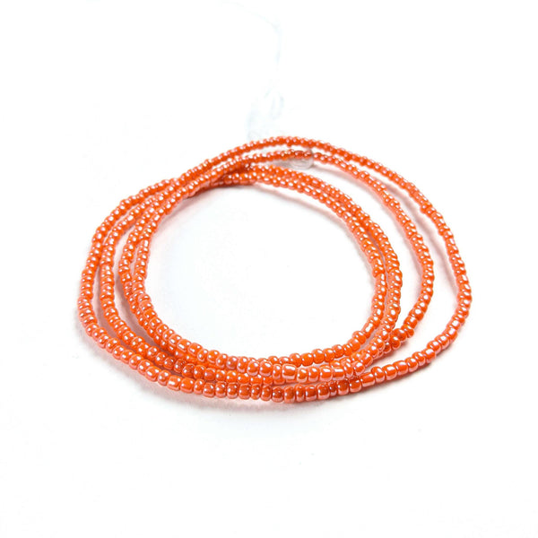 Coral African Waist Beads