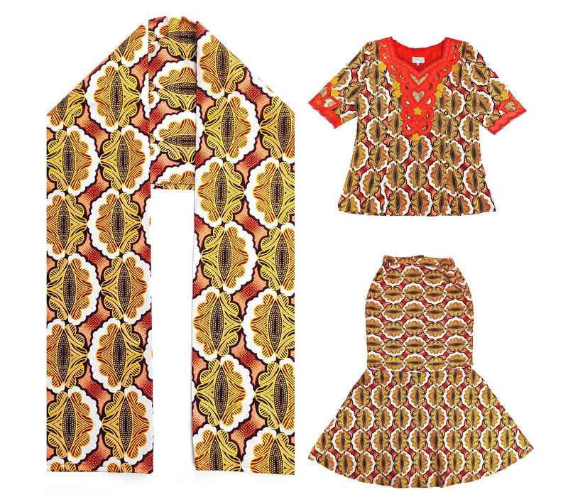 Women's Embroidery 2pc Set