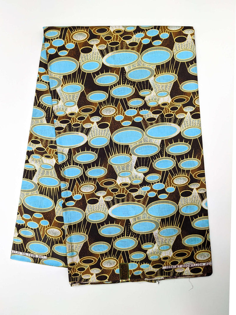 African Print Veritable Dutch Wax F14