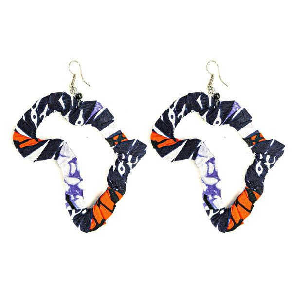 Handmade Ankara Africa Earrings