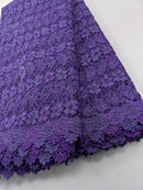 Purple Cod Lace