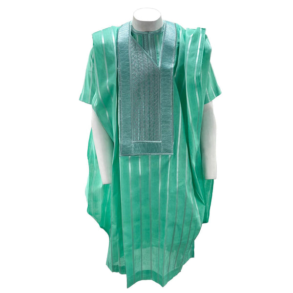 Green Agbada 3pc Set