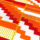 Kente Wax Print Fabric - 6 Yards