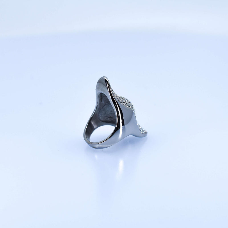 Women's Lotus Silver Ring