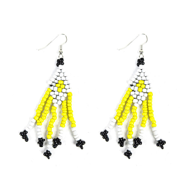 Handmade Maasai Beaded Earrings