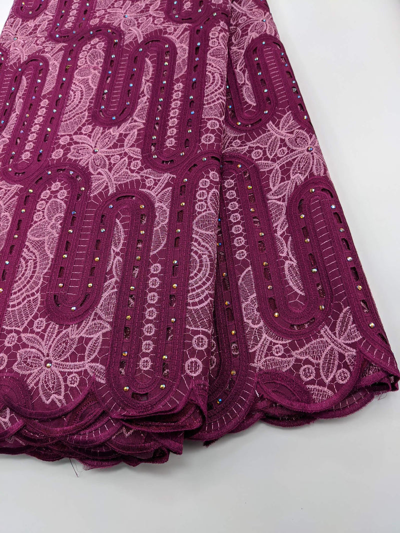 Pink Cotton Lace