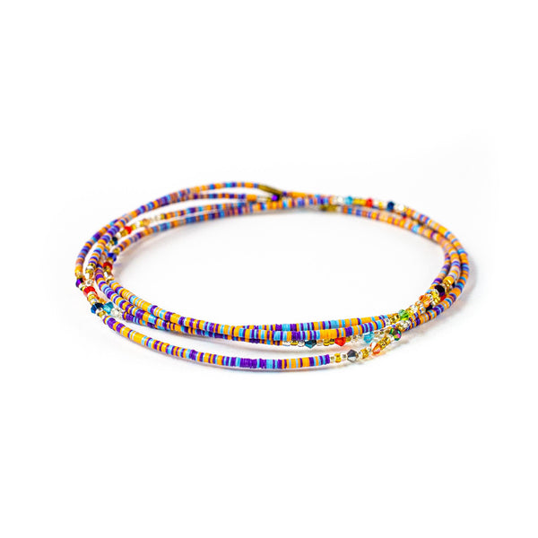 Multicolored Clasp Waist Beads
