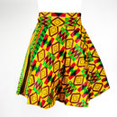 Kente Wax Skirt