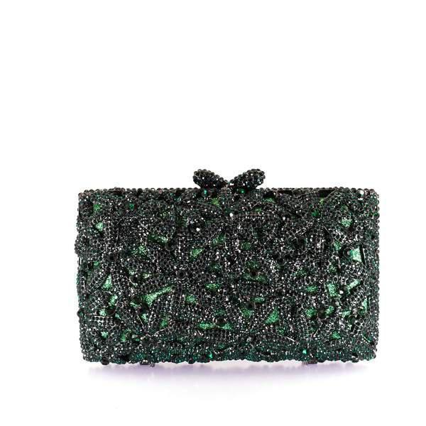 Timeless Emerald Clutch Purse