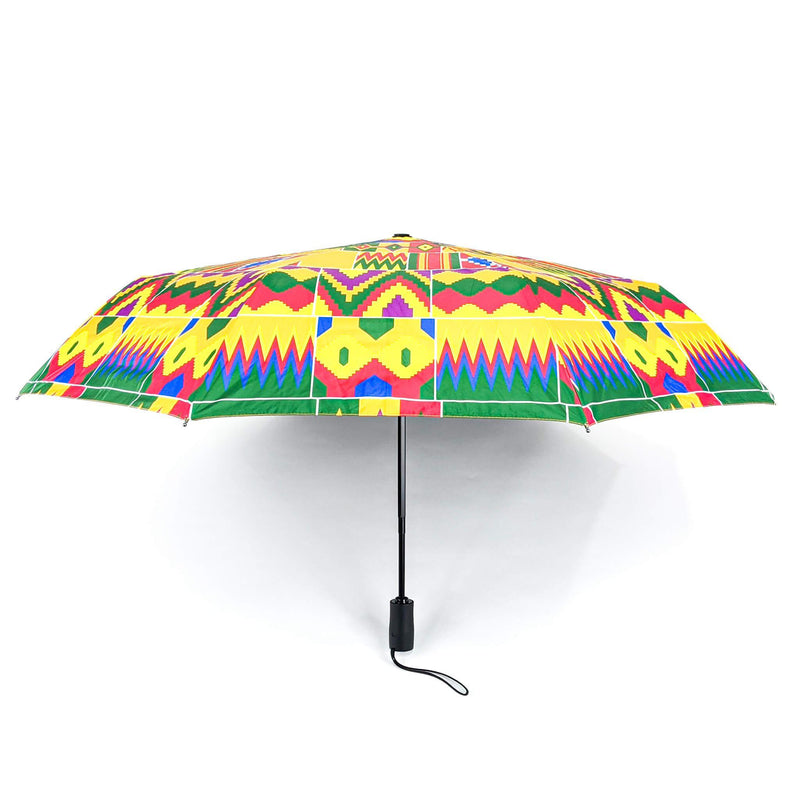 Kente Pattern Umbrella