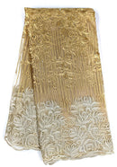 Gold & Silver French Lace
