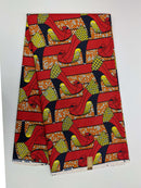 African Print Veritable Dutch Wax F63