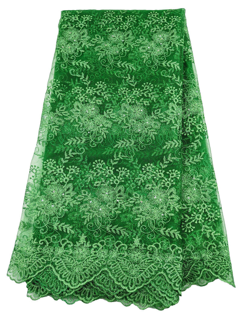 Green Net Lace
