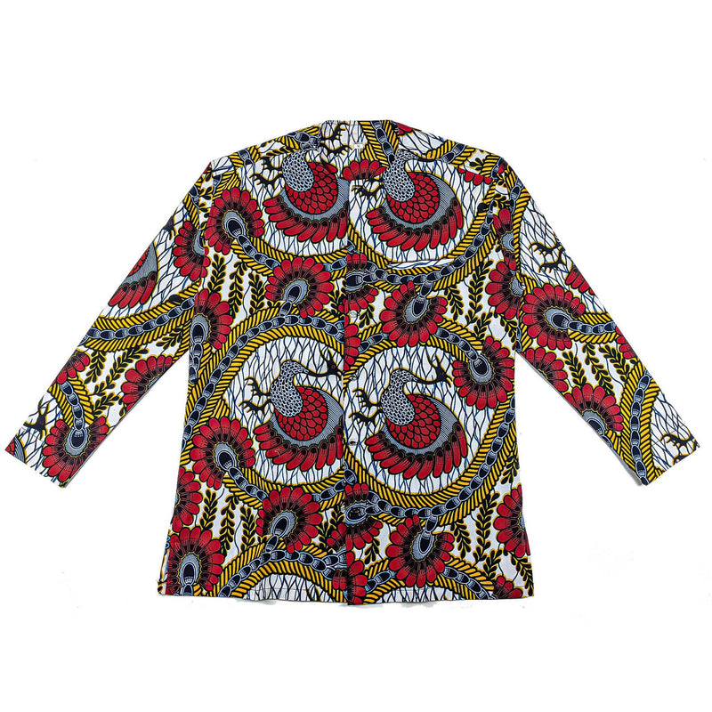 Ankara Long Sleeve Top