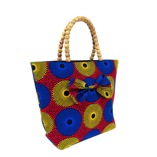 Multicolored Ankara Bag
