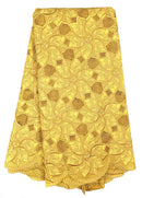 Gold Swiss Cotton Lace