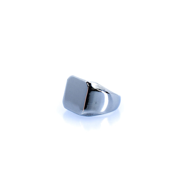 Women's Cushion Silver Ring