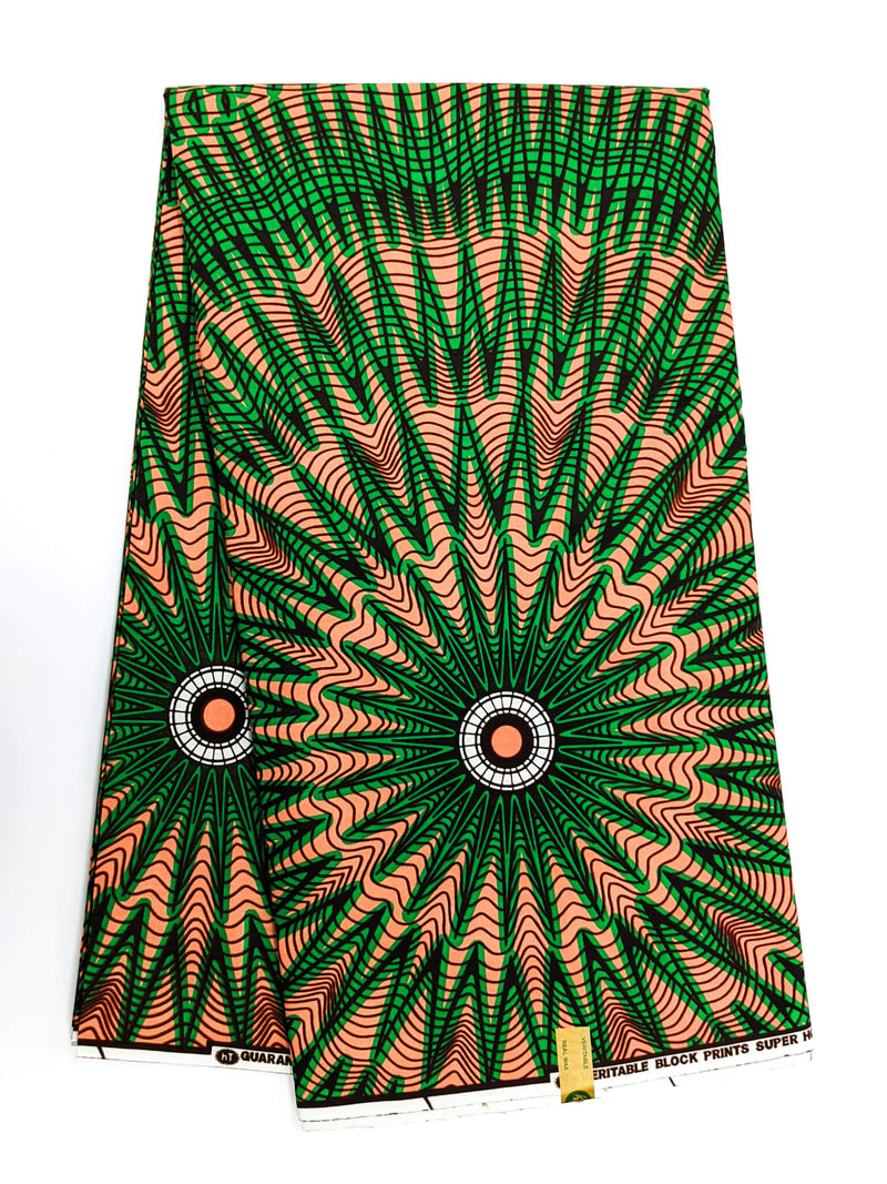 African Print Veritable Dutch Wax F6