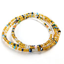 Multi-Colored African Waist Beads