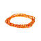 Orange Shinny Clasp Waist Beads