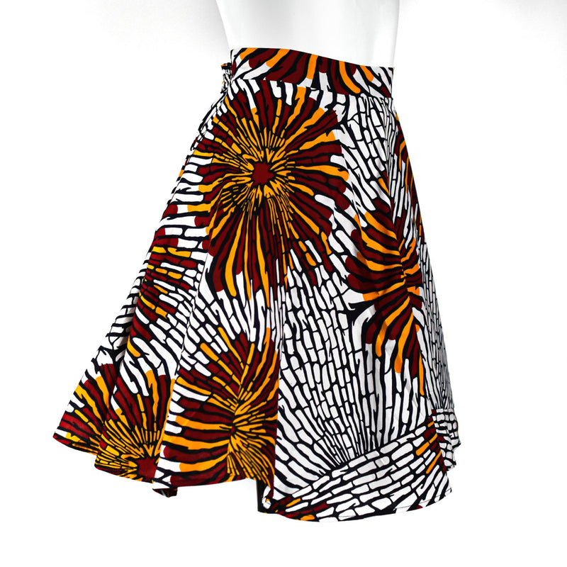 Ankara Wax Skirt