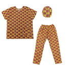 Kente Pant/cap Set