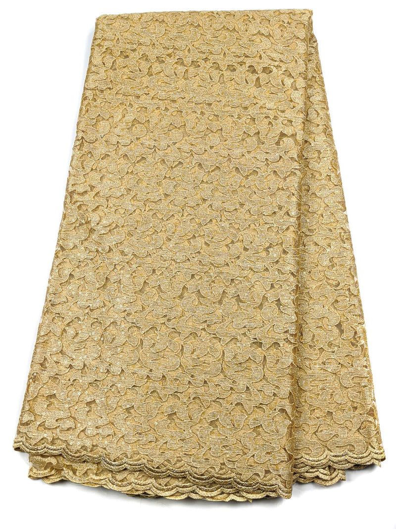 Gold French Lace